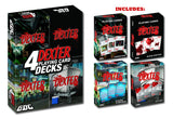 DEXTER PLAYING CARDS, 4-PACK