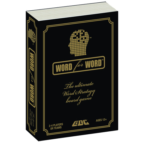 WORD FOR WORD BOARD GAME - VOLUME 1 - BOOKSTYLE BOX