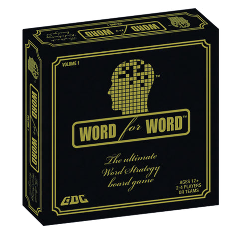 WORD FOR WORD BOARD GAME - VOLUME 1