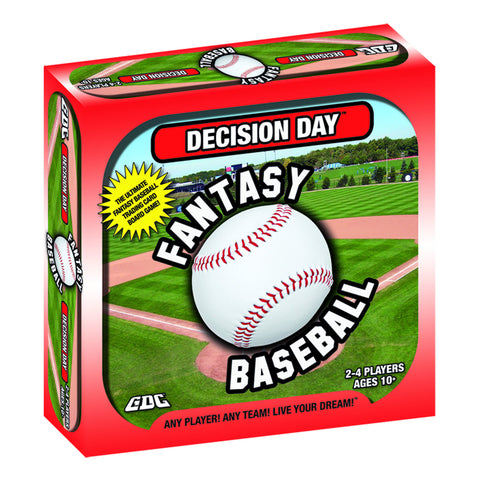 DECISION DAY FANTASY BASEBALL BOARD GAME, TRADING CARDS, MLB