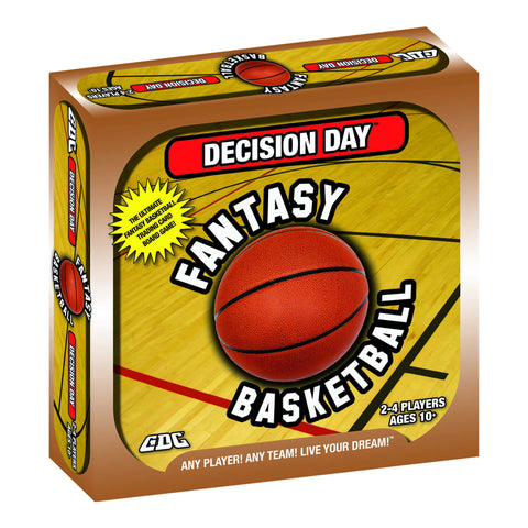 DECISION DAY FANTASY BASKETBALL BOARD GAME, TRADING CARDS, NBA