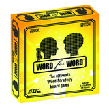 WORD FOR WORD BOARD GAME - JUNIOR EDITION