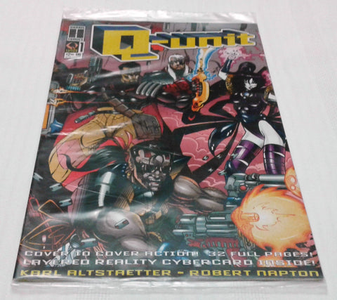 Q-UNIT #1 (DEC 1993, HARRIS COMICS) NM-MINT