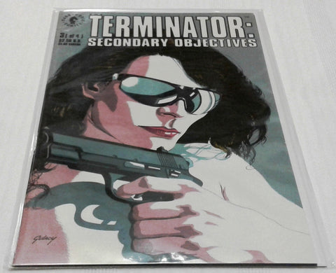 THE TERMINATOR: SECONDARY OBJECTIVES #3 (SEP 1991, DARK HORSE) NM-MINT