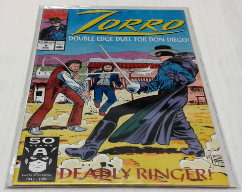 ZORRO #9 (AUG 1991, MARVEL) NM-MINT