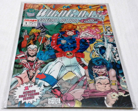 WILDC.A.T.S : COVERT ACTION TEAMS #1 (AUG 1992, IMAGE) NM-MINT