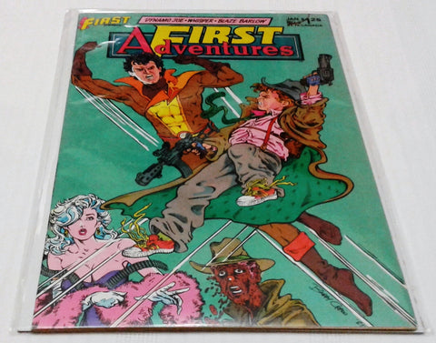 FIRST ADVENTURES #2 (JAN 1986, FIRST COMICS) NM - MINT