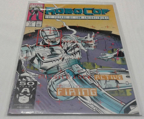 ROBOCOP #11 (JAN 1991, MARVEL) NM-MINT
