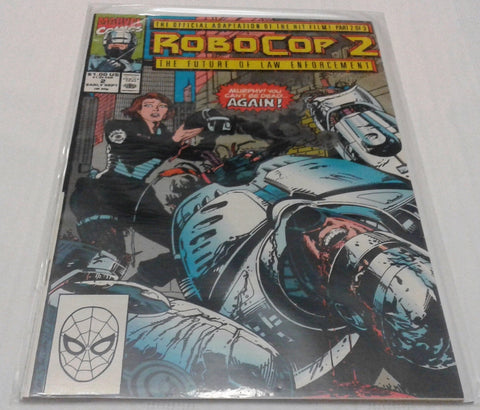 ROBOCOP 2 #3 (SEP 1990, MARVEL) NM-MINT