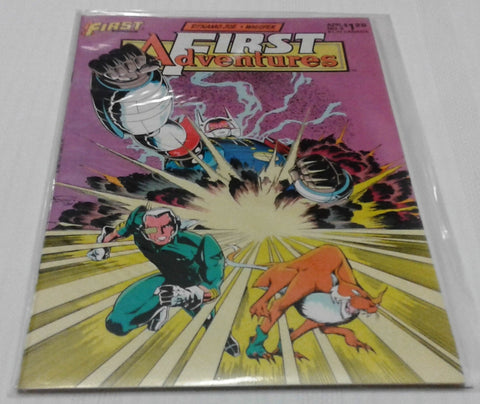 FIRST ADVENTURES #5 (APR 1986, FIRST COMICS) NM-MINT