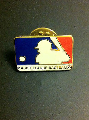 MLB MAJOR LEAGUE BASEBALL LOGO LAPEL PIN, CIRCA 1996, VINTAGE
