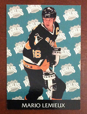 NHL MARIO LEMIEUX 1993-94 PRO SET PARKHURST ALL-STARS CARD #462, NM-MINT