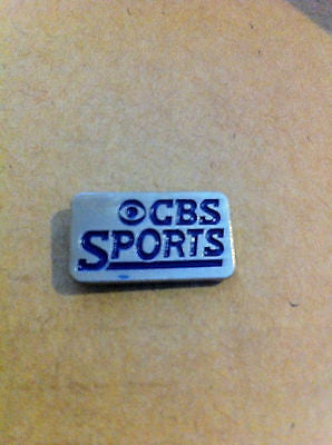 CBS SPORTS TELEVISION LAPEL PIN, CIRCA 1990'S VINTAGE