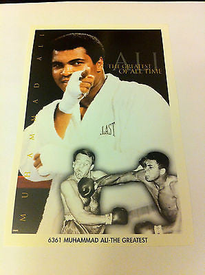 MUHAMMAD ALI MINI POSTER, 4 X 6 INCHES, BOXING, GREATEST OF ALL TIME, NEW
