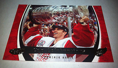 NHL DOMINIK HASEK 2006-07 UPPER DECK POWER PLAY STANLEY CUP CELEBRATIONS INSERT CARD #CC3