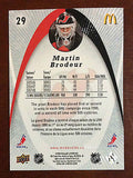 NHL MARTIN BRODEUR 2008-09 UPPER DECK MCDONALDS CARD #29, NM-MINT