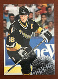 NHL MARIO LEMIEUX 1994-95 DONRUSS CARD #5, NM-MINT