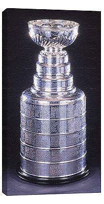 NHL STANLEY CUP 14X28 ART CANVAS