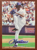MLB PEDRO MARTINEZ FLEER ULTRA #113 BASEBALL CARD 2007 NEW YORK METS NM-MINT