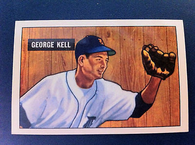 MLB GEORGE KELL, 1941 #46 REPRINT (1986) EX-NM