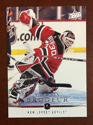 NHL MARTIN BRODEUR 2008-09 UPPER DECK SERIES 1 CARD #81, NM-MINT