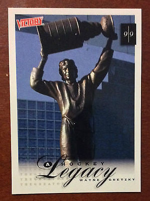 NHL WAYNE GRETZKY 1999-00 UPPER DECK VICTORY, HOCKEY LEGACY, CARD #438, NM-MINT