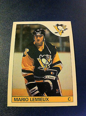 NHL MARIO LEMIEUX, PITTSBURGH PENGUINS ROOKIE CARD #9, O-PEE-CHEE REPRINT, MINT