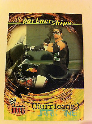 WWE WWF ABSOLUTE DIVAS PARTNERSHIPS HURRICANE NM-MINT, FLEER 2002