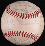 MLB 1954 NEW YORK GIANTS WORLD SERIES TEAM AUTOGRAPHED BASEBALL, AUTH BY JSA