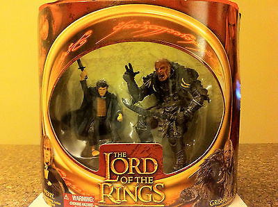 LOTR LORD OF THE RINGS, THE TWO TOWERS,MERRY & GRISHNAKH, 2002