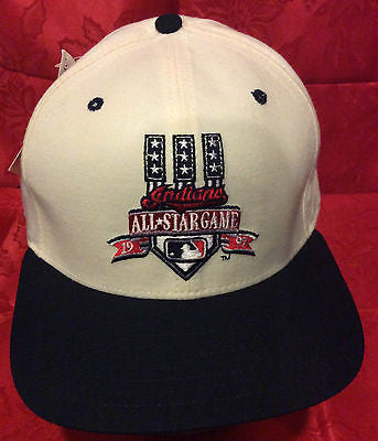 MLB 1997 ALL-STAR GAME ADJUSTABLE HAT, CLEVELAND INDIANS, NEW ERA, NEW