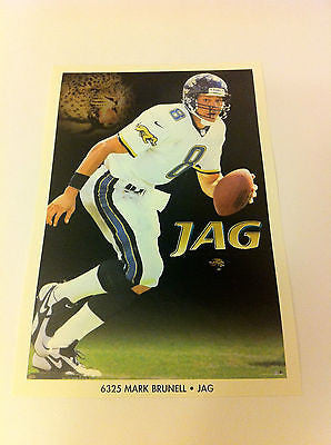 NFL MARK BRUNELL MINI POSTER, 4 X 6 INCHES, JACKSONVILLE JAGUARS