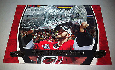 NHL CAM WARD 2006-07 UPPER DECK POWER PLAY STANLEY CUP CELEBRATIONS INSERT CARD #CC2