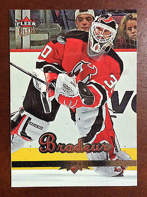 NHL MARTIN BRODEUR 2005-06 FLEER ULTRA CARD #116, NM-MINT