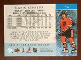 NHL MARIO LEMIEUX 2012-13 UPPER DECK ARTIFACTS CARD #56, NM-MINT