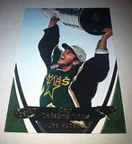 NHL MIKE MODANO 2006-07 UPPER DECK POWER PLAY STANLEY CUP CELEBRATIONS INSERT CARD #CC4