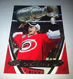 NHL ERIC STAAL 2006-07 UPPER DECK POWER PLAY STANLEY CUP CELEBRATIONS INSERT CARD #CC1