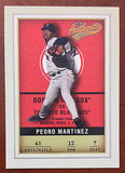 MLB PEDRO MARTINEZ FLEER #12 BASEBALL CARD 2002 BOSTON RED SOX NM-MINT