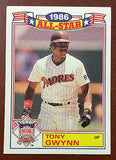 MLB TONY GWYNN TOPPS #6 BASEBALL CARD 1987 ALL-STAR SAN DIEGO PADRES NM-MINT