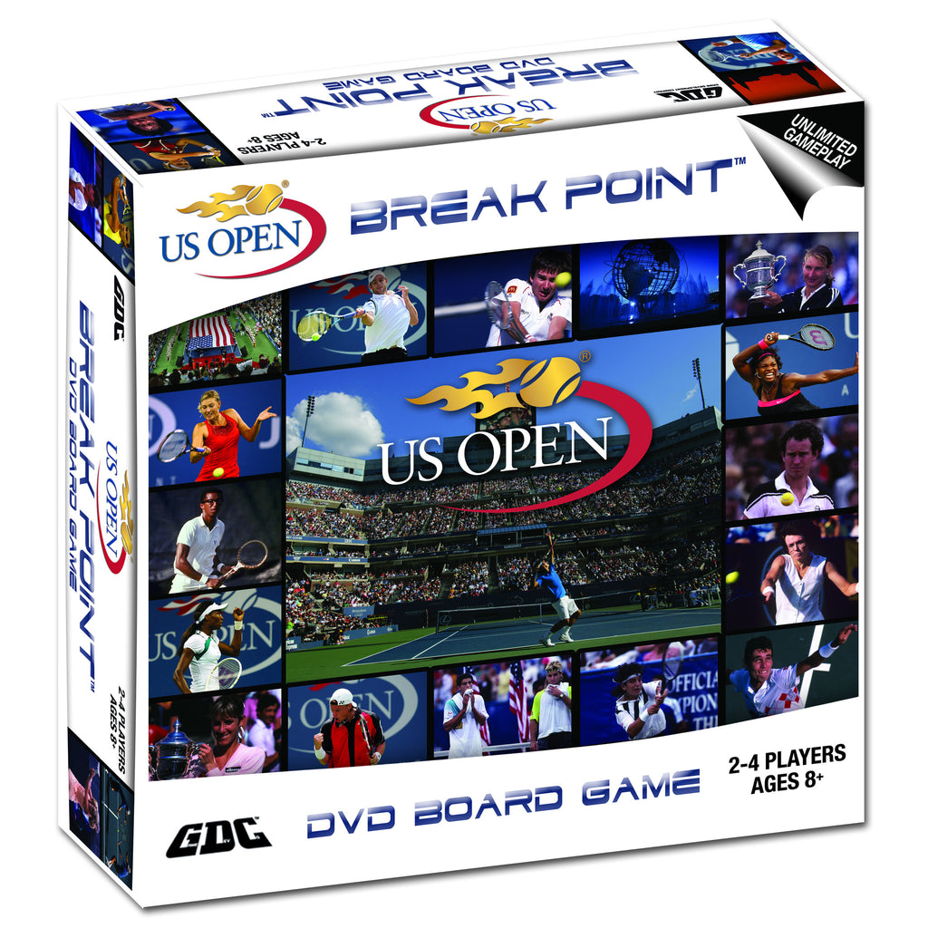 US OPEN TENNIS DVD BOARD GAME