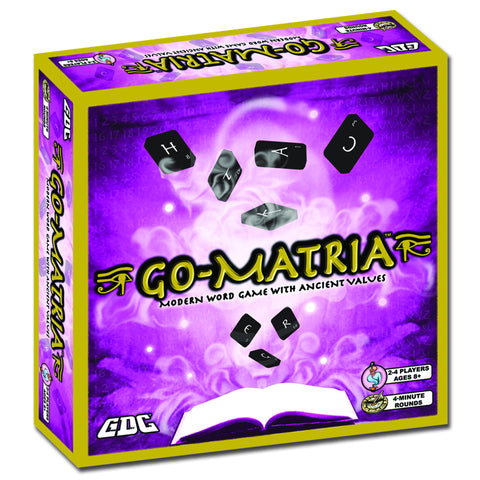GO-MATRIA! MODERN WORD GAME WITH TILES