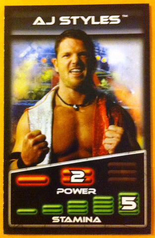 TNA WRESTLING, AJ STYLES PROMO CARD, LOT OF 10 CARDS