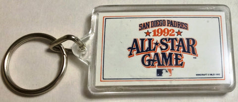 MLB SAN DIEGO PADRES, ALL-STAR GAME KEYCHAIN, CIRCA 1992