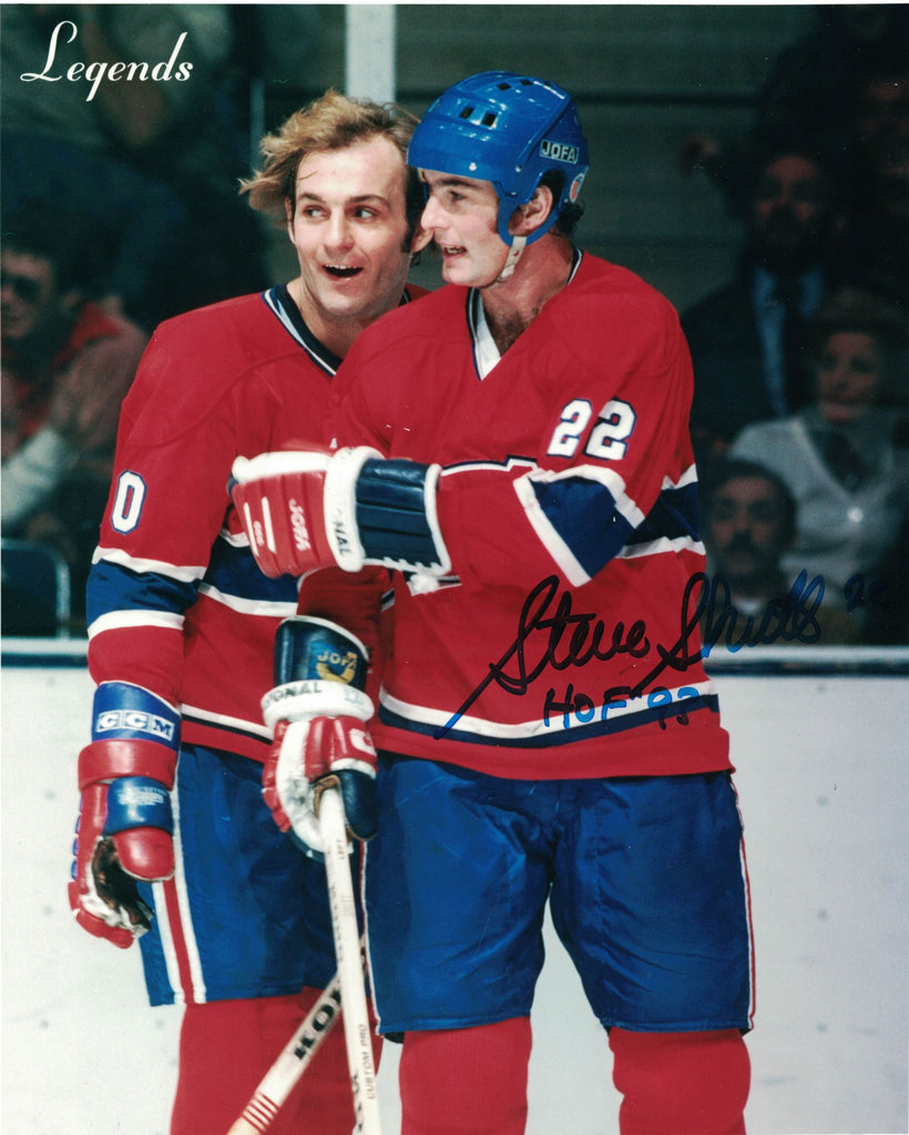 NHL MONTREAL CANADIENS STEVE SHUTT AUTOGRAPHED 8X10 PHOTO