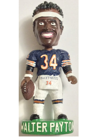 "NFL CHICAGO BEARS, WALTER PAYTON 4"" BOBBLEHEAD, CIRCA 2002, LIMITED EDITION, NEW"