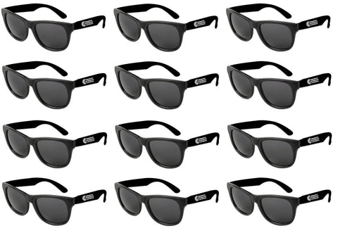 TORONTO CARIBBEAN CARNIVAL SUNGLASSES, 12-PACK (7 COLORS AVAILABLE)
