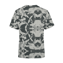 Load image into Gallery viewer, Men's Digital Grey Camo T-Shirt