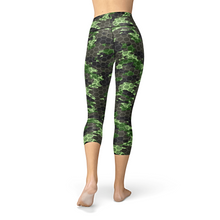 Load image into Gallery viewer, Nellie Yoga Army Hex Camo