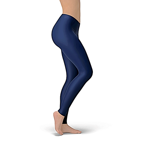 Solid Navy Buttery Soft Leggings
