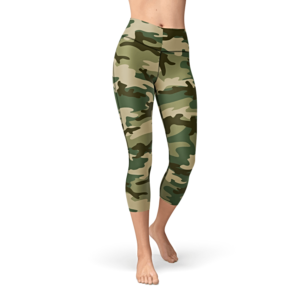 Nellie Yoga Green Camo